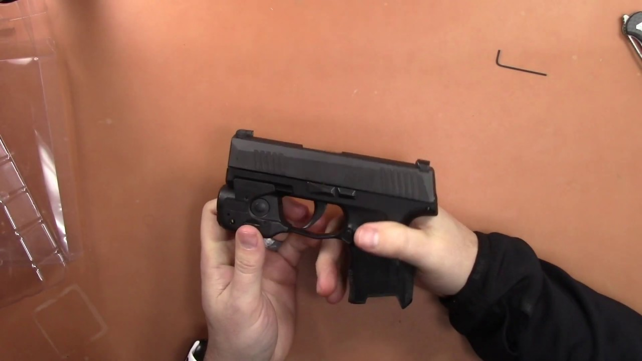 Streamlight TLR6 for the Sig Sauer P365