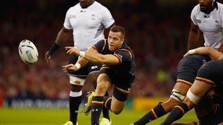 Botia's brilliant try saving tackle - Fiji v Wales