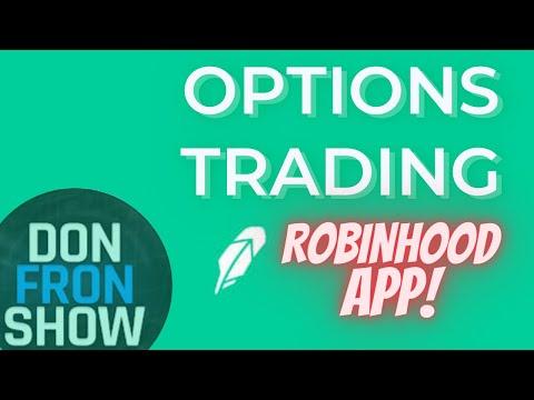 Robinhood options trading guide