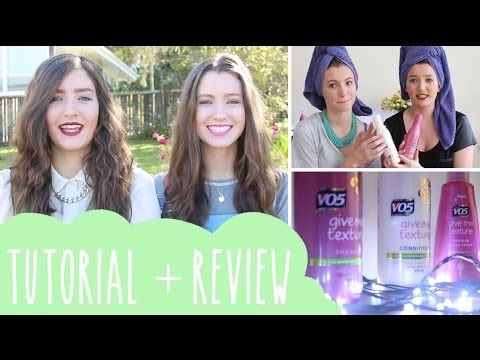 VO5 give me texture review:tutorial