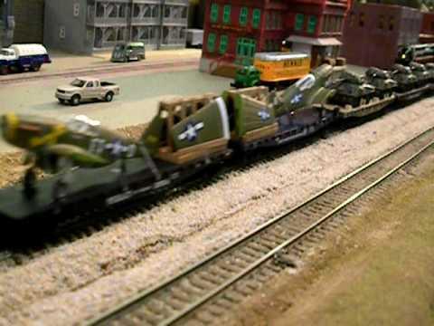 n w 2 8 8 2 n scale military train up coal train youtube