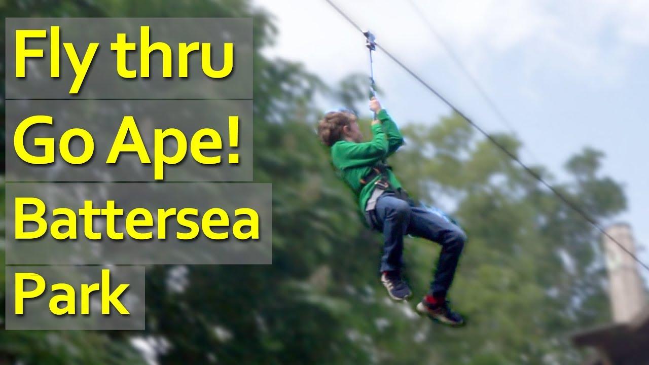 Go Ape Tree Top Adventures In Battersea Park Thrive Wandsworth