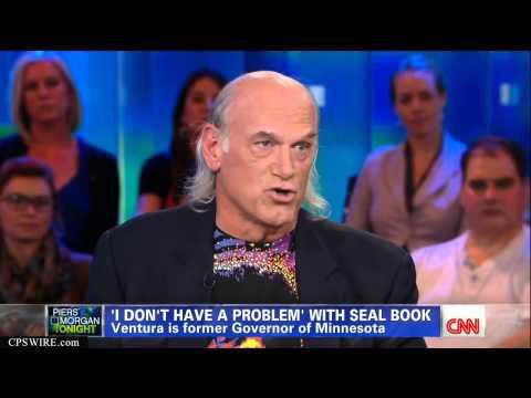 Jesse Ventura on CNN w/ Piers Morgan Sept. 17th, 2012 Full Interview HD