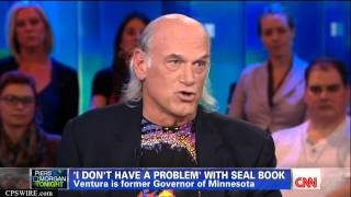 Jesse Ventura on CNN w/ Piers Morgan Sept. 17th, 2012 Full Interview HD