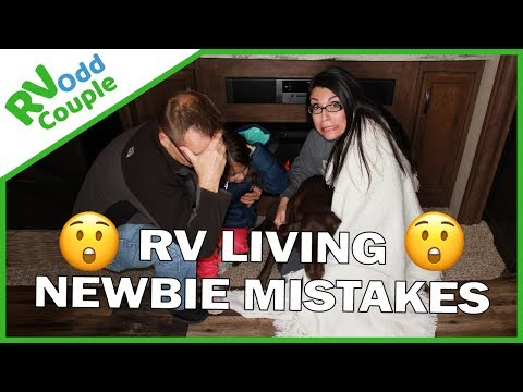 4 Newbie RVing Mistakes We Made After 30 Days of RV Living
