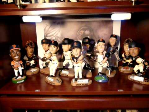 Sf Giants Bobblehead Display Case Youtube