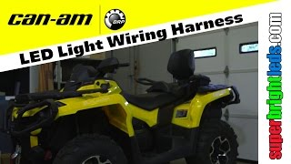CAN AM ATV How to wire harness