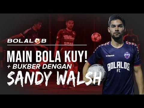 Serunya Main Bola dan Buka Puasa Bareng Sandy Walsh!