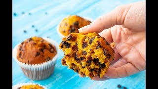Best Pumpkin Muffins with Chocolate Chips Recipe