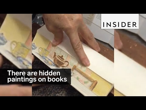 there-are-hidden-paintings-on-the-edges-of-these-books
