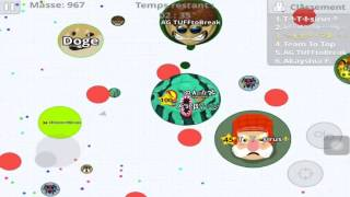 agar io mobile small gameplay first video