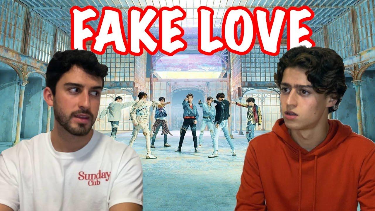 HERMANOS REACCIONAN a BTS - FAKE LOVE por PRIMERA VEZ