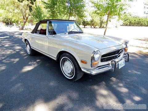 1969 mercedes benz 280sl pagoda for sale youtube for Mercedes benz watch for sale