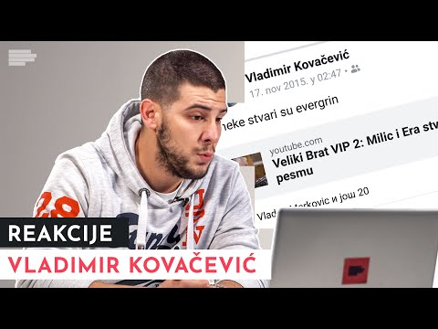 MONDO REAKCIJE: Vladimir Kovačević reaguje na svoje stare fotke   S01E11