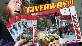 Transformers Card Game GIVEAWAY!