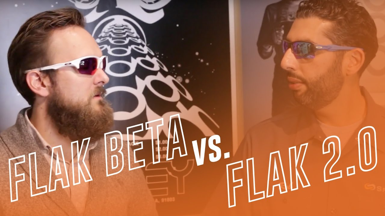 3574f05fce Oakley Flak Beta vs. Flak 2.0   2.0 XL