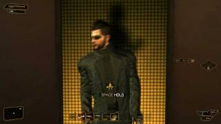 Adam Jensen Does A Safety Dance! (Deus Ex: Human Revolution)