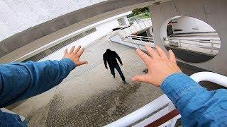 PARKOUR vs Gemini Man! POV Parkour Chase