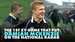 All Black Damian McKenzie As A Superstar Schoolboy | Rugby Highlights | RugbyPass