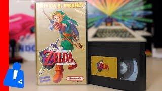 FOUND! New Zelda: Ocarina of Time VHS w/ Beta Footage!