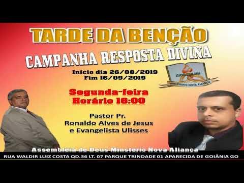 Programa Nova Aliança Pr Ronaldo Alves