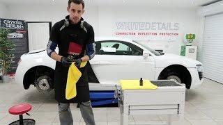 "Audi R8 receives the ""White Detail"" - VLOG 004"