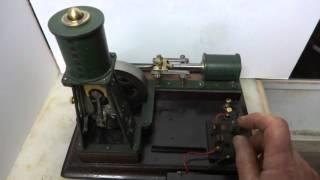 Unique Twin Solenoid Steam Engine