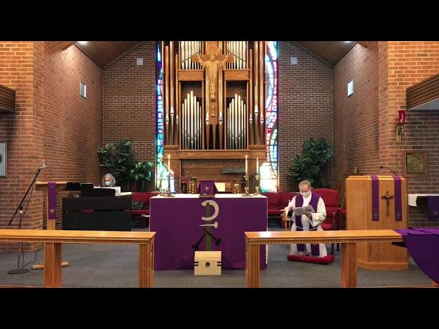 1 Lent - Holy Eucharist - 2/21/21