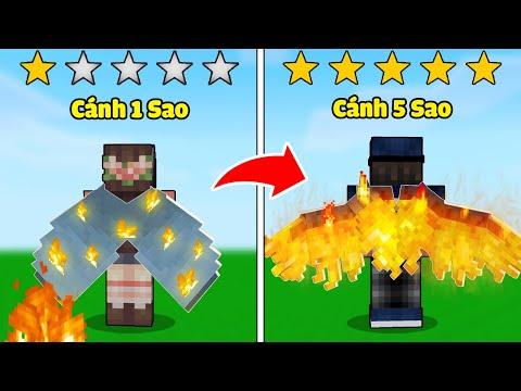 gửi hàng đi úc - bqThanh và Ốc Thử Thách Chế Tạo ĐÔI CÁNH 1 SAO và 5 SAO Siêu Xịn Trong Minecraft