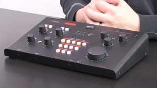 spl crimson usb audio interface monitor controller