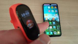 Как найти смартфон с помощью Mi Band 4 ?