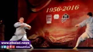 عرض كونغ فو صيني للرهبان شاولين على مسرح الجمهورية «فيديو وصور»
