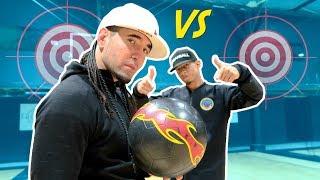 FOOTBALL vs BASKETBALL Feat Brisco - Challenge H.O.R.S.E (Trickshots, Freestyle)