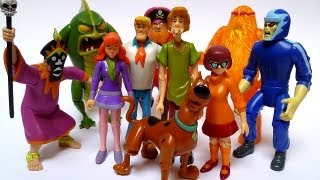scooby doo friends foes action figure collection review