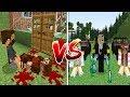 ZENGİN VS FAKİR #1 - Fakir'in Babası Öldü ! - Minecraft