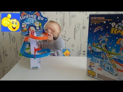 Развивающая игра Весёлые пингвины