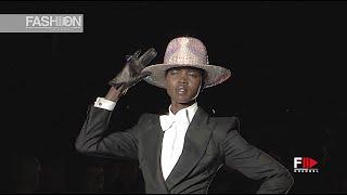 PHILIP TREACY Spring 2013 London - Fashion Channel