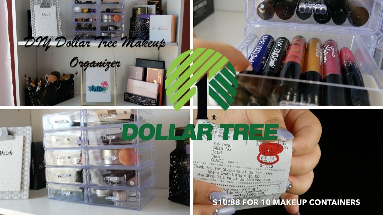 Makeup organizer drawer