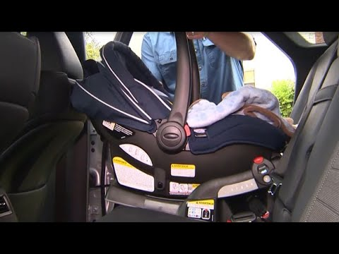 Keeping The Baby inside a Rear-Facing Vehicle Seat