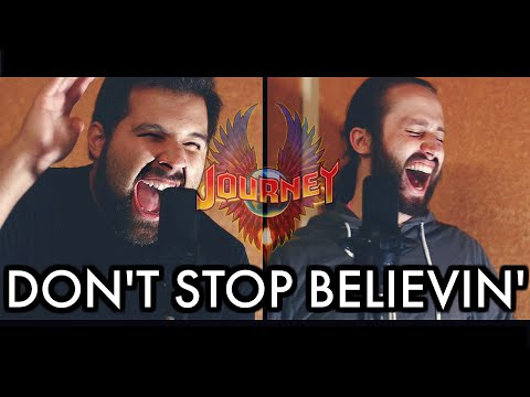 DON'T STOP BELIEVIN' - Journey (Caleb Hyles & Jonathan Young) - Metal Cover
