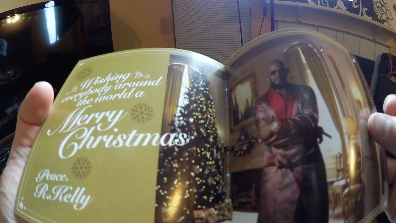 r kelly 12 nights of christmas album pickupunboxing - 12 Nights Of Christmas