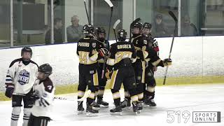 Minor Midget - Huron Perth Lakers vs Waterloo Wolves