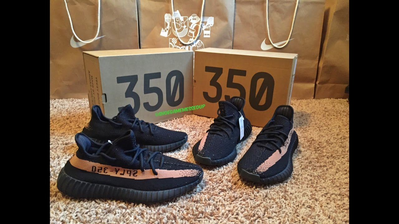 premium selection ddfe5 7bd3d Adidas Yeezy 350 Boost Copper   Black Gold (Unboxing)   (Review) (HD)