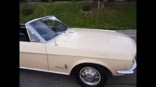 1968 Mustang Convertible FOR SALE