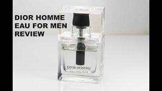 Dior Homme Eau for Men Review