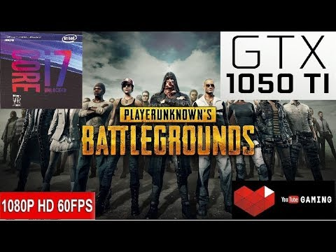 PUBG - Intel Core i7 8700 - Nvidia GeForce GTX 1050 Ti 4GB GDDR5 - Gameplay