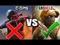 Standoff 2 VS Critical Ops [2018]