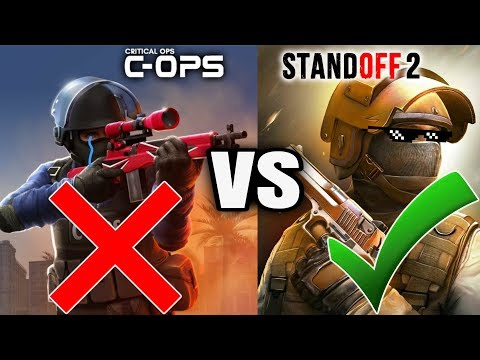 Standoff 2 VS Critical Ops 2018