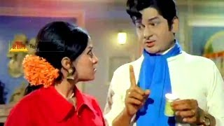 Comedy Scene Between Chandrakala & Rama Krishna - Nomu Telugu Movie