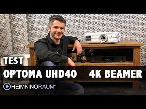 test optoma uhd40 4k beamer mit hdr f r euro youtube. Black Bedroom Furniture Sets. Home Design Ideas